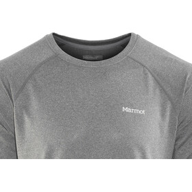 Marmot Accelerate SS Shirt Men Grey Storm Heather